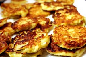 bramboracky z chleba