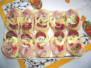 Česneková pomazánka na chlebíčky