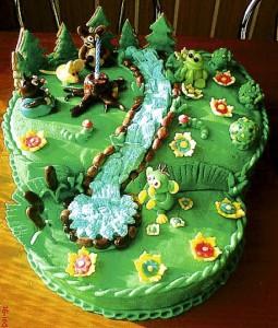 Dětský pohádkový dort