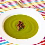 <b>Zelená polévka se sušenými rajčaty</b>