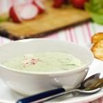 <b>Pórková polévka s ředkvičkami</b>