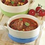 <b>Mexická polévka s koriandrem a knedlíčky</b>