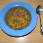 <b>Bramborová polévka s houbami</b>