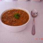 <b>Čočková polévka s mozzarellou</b>
