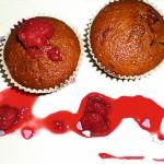 <b>Malinovo-čololádové muffiny</b>
