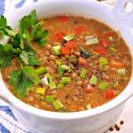 <b>Čočková polévka</b>