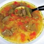<b>Čínská srdíčková polévka</b>