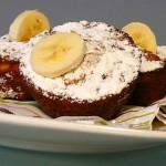 <b>Banánové muffiny s čokoládou</b>