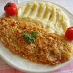 <b>Filé pod křupavou sýrovou peřinou</b>