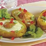 <b>Zapečené brambory s volským okem</b>