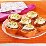 <b>Mrkvové muffiny s pistáciemi</b>