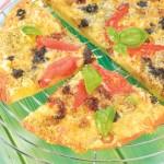 <b>Pizza se třemi sýry a olivami</b>